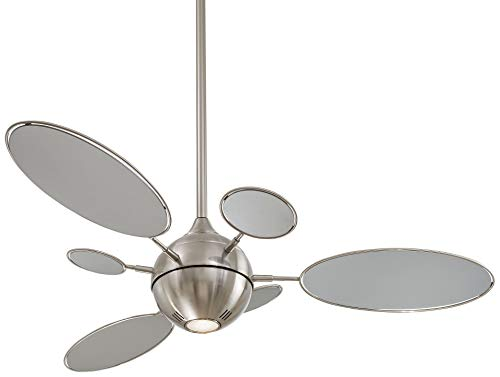 Minka-Aire F596-BN Cirque 54 Inch Ceiling Fan in Brushed Nickel Finish