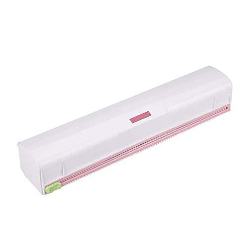 Fantastic Deal! Braceletlxy Cling Film Cutter, Plastic Food Wrap Dispenser Wrap Cutter Foil and Clin...