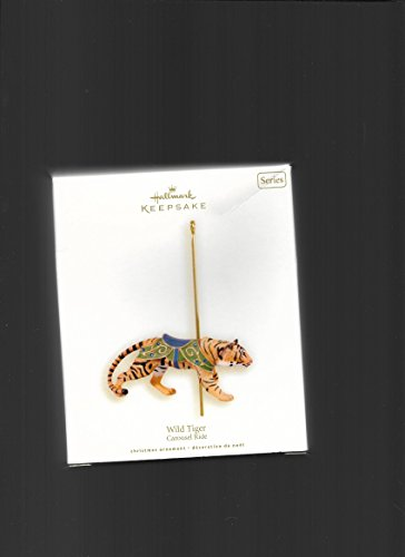 Wild Tiger 5th And Final In Series 2008 Hallmark Keepsake Ornament