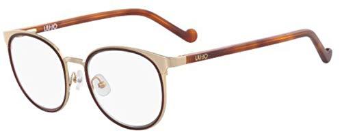 LIU Jo LJ2119 - Gafas de Sol de Metal Blush Gold, Unisex, para Adulto, Multicolor, estándar