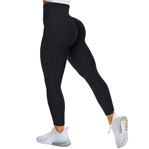 QTJY Leggings sin Costuras para Mujer, Pantalones de Yoga Push-up elásticos y de Secado rápido, Cintura Alta, Sentadillas, Leggings para Correr GM