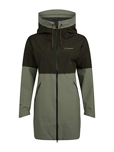 Berghaus Rothley Gore-Tex wasserdichte Shell-Jacke für Damen M Grün