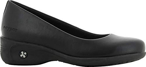 Oxypas Oxypas Fashion komfortabeler Berufsschuh Colette aus Leder antistatisch (ESD) (36, schwarz)