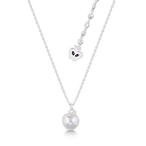 Disney Princesse Blanche Neige Snow White 3D Apple Pendant Necklace Collier Pendendit Femme Fantasie