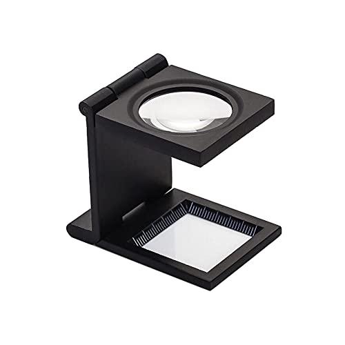 10X 28MM Mini Three-Folding Magnifier Zinc Alloy Magnifier...