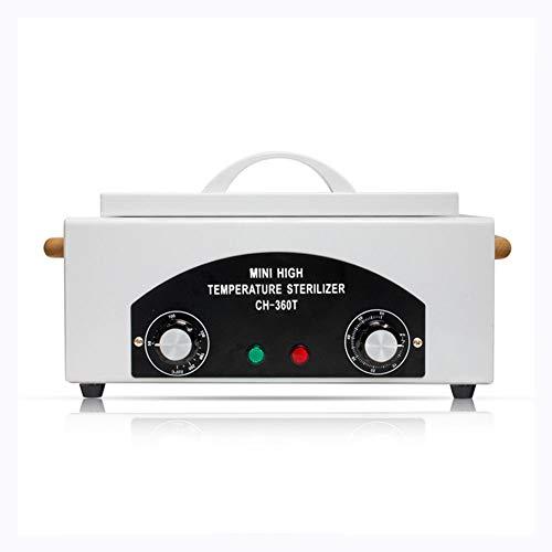 FHSGG Werkzeugsterilisatorschrank Wärmeschrank Autoklav Heißtrocknen Hochtemperatur-UV-Sterilisator Werkzeugmaniküre Maschinennägel Zubehör Sterilisatorausrüstung