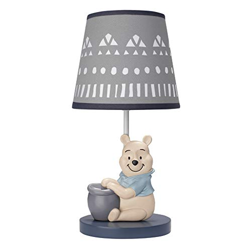 Disney Baby Forever Pooh Lamp with Shade & Bulb by Lambs & Ivy