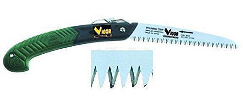 Vigor LH Kanzawa D-180 zaag voor het bijzagen van bomen en struiken, inklapbaar, 180 mm