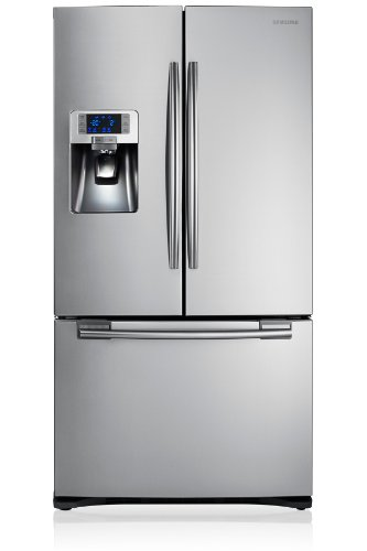 Samsung RFG23UERS - Frigorífico side-by-side (Independiente, Plata, Puerta francesa, 520 L, 630 L, SN, T)
