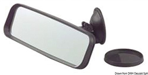 Osculati 48.437.05 - Rückspiegel Saugerb 53x160x114