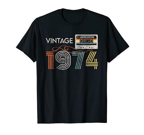 Cassette rétro vintage 1974 46e ...