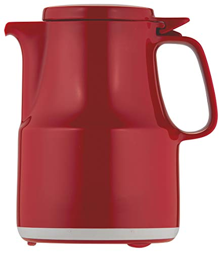 Helios Thermoboy Kunststoff-Isolierkanne, rot, 0,3 Liter