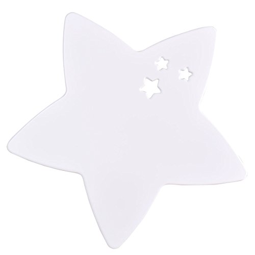 Lampara de pared infantil Star (Blanco)