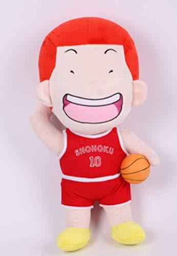 Yzhome Basketball Anime Series Peluche 47 Cm , Slam Dunk Star Team Sakuragi Flower Road Rukawa Maple Peluche Doll Doll Birthday Gift