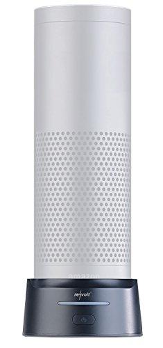 reVolt Alexa Powerbank: 2in1-Powerbank für Amazon Echo 1 und USB-Geräte, 10.000 mAh, Tragegurt (Echo Dot Powerbank)