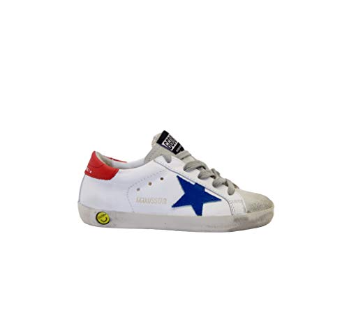 Golden Goose Sneakers Bianco Blu Rosso, 29