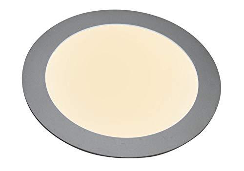 Preisvergleich Produktbild Heitronic 27636,  Integrierte Deckenleuchte Aluminium,  silber