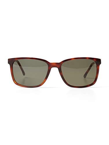 TOM TAILOR Herren Eyewear Zweifarbige Sonnenbrille havanna,OneSize