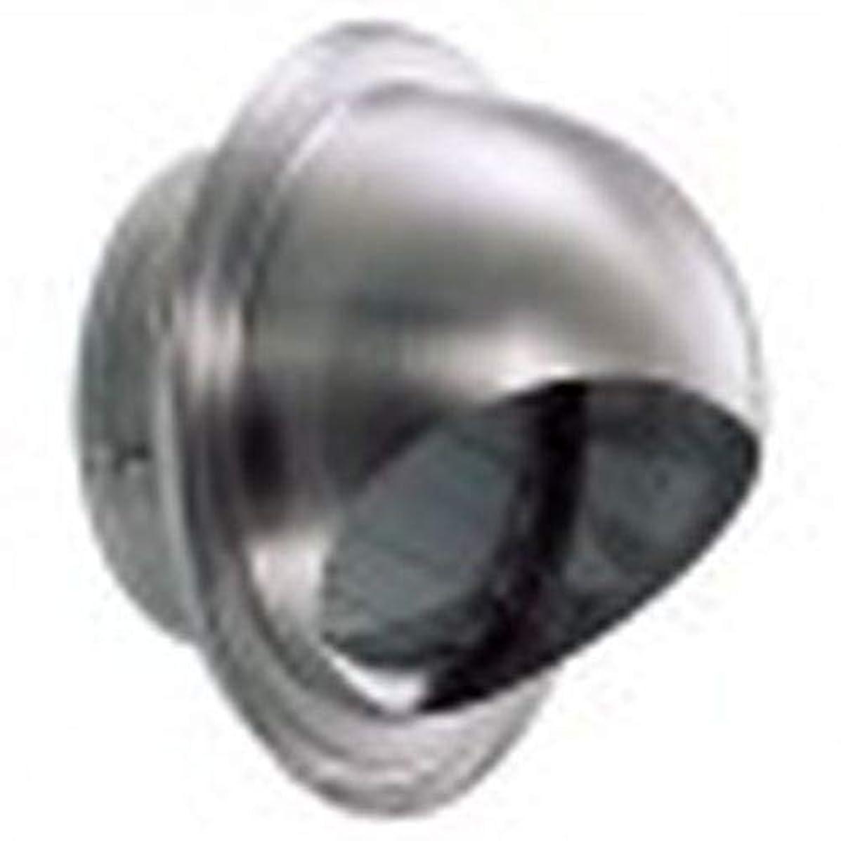 無関心ペン過度のステン丸型フード付ガラリ強制用 GZEV100S-HL 箱売り(4905637105899×24)