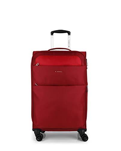 Gabol - Cloud | Maletas de Viaje Medianas de 42 x 69 x 26 cm con Capacidad para 61 L de Color Rojo