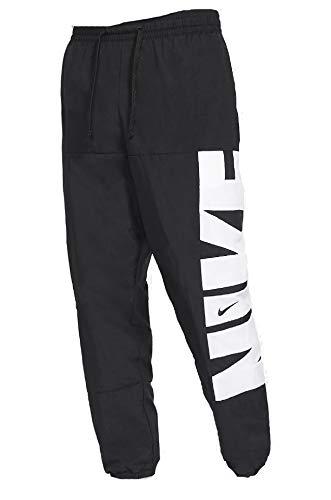 Nike Dri-FIT - Pantalones de baloncesto para hombre, diseño de cinco - negro - X-Large