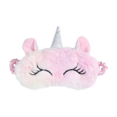 Colorido Unicornio Máscara ojos Sombreado Kawaii