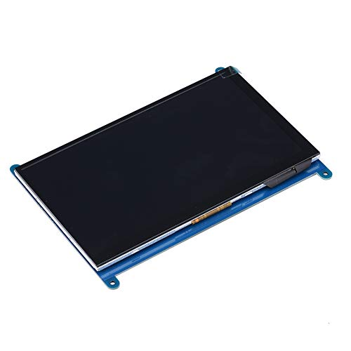Labuduo Anzeige IPS Touch Plus Bildschirmgehäuse, Shell Case Bildschirm, hohe(Metal Bracket Shell + 7 inch Display)