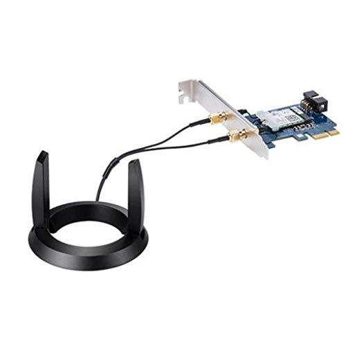 Antena omnidireccional, 2.4/5GHZ Interfaz SMA de Doble Banda WiFi Antena Enrutador Tarjeta de Red inalámbrica Antena Cable de extensión para PCE-AC58BT Antena de Alta Ganancia