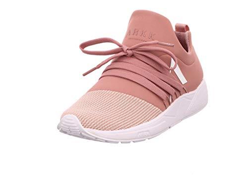 ARKK Copenhagen Damen Sneaker Low Raven Mesh rosé 38