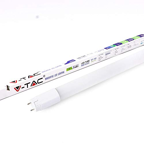 Neon a LED Tubo 150 Cm 22W, G13 T8 Samsung'High Lumens' Luce Naturale 4000K