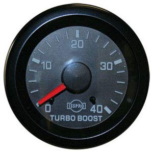 Isspro Gauges (R5653R) Turbocharger Boost Gauge