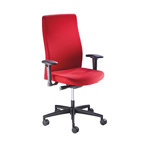 Bürodrehstuhl | Synchronmechanik | Flachsitz mit Knierolle | Rot | Prosedia - Arbeitsdrehstuhl Arbeitsdrehstühle Bürodrehstuhl Bürodrehstühle Bürostuhl Bürostühle Drehstuhl Drehstühle Operatordrehstuhl Operatordrehstühle Stuhl Stühle Universalstuhl