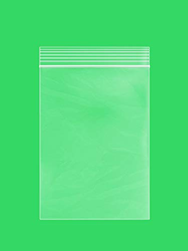 CLEAR PLASTIC RECLOSABLE ZIP BAGS - Bulk GPI Case Of 1000 4 x 6 2 mil Thick Strong & Durable Poly Baggies With Resealable Zip Top Lock For Travel, Storage, Packaging & Shipping.