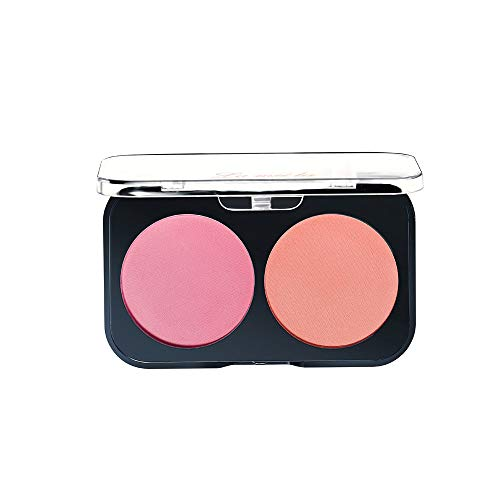 Make-Up Puder Blush Rouge,Blush Duo Peach&Apricot, Rouge, Natural Make-up, 13 g - DAKERTA (A)