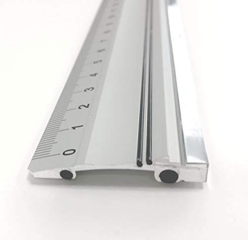 Victor Bar Schneidelineal aus Aluminium Profi-Ausführung rutschsicher 104cm