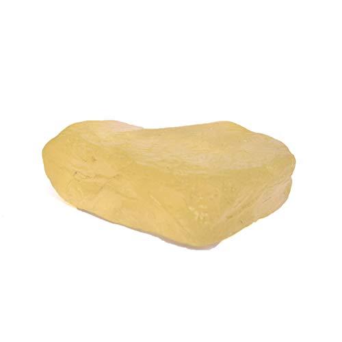 Chakra-Heilung-Kristallzitronen-Topas 83,00 Ct Natürlicher unbeheizter Zitronen-Topas - roher loser Stein