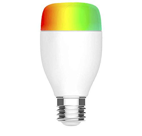 Smart Wlan LED Lampe E27, LACYIE WIFI Smart LED Lampe Glühbirne 7W RGB Intelligente LED Birne Compatible With Alexa, Google Home IFTTT No Hub Required für Android & IOS
