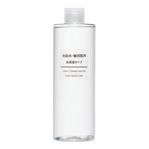 無印良品 化粧水 敏感肌用 高保湿タイプ 大容量 400mL 44294024 400ミリリットル (x 1)