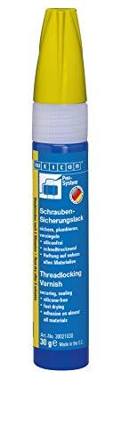 Weicon 30021030 Schraubensicherungslack 30g gelb – Schrauben-Sicherung & Korrosionsschutz