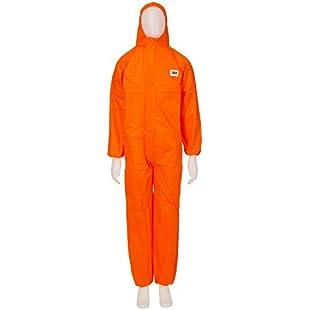 3M Protective Coverall, Orange, 4515-O-M:Superclub