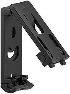 TEGE Belt Clip Platform, Unique Open Type Belt Loop Attachment for 60° Adjustable Paddle Holsters and Magazine Pouch, Black