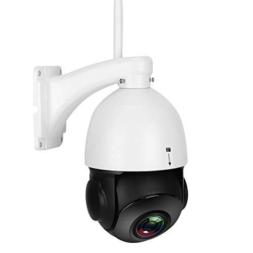 Pwshymi WIFI 1080P cámara PTZ de alta definición a prueba de lluvia para grabación de detección de movimiento (regulación británica)