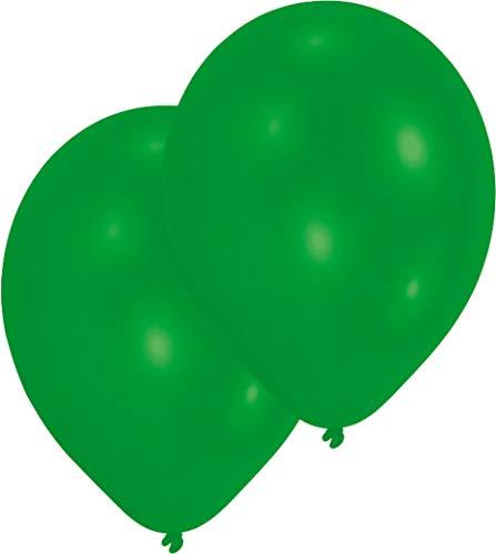 RIETHMUELLER C. GMBH Amscan - Palloncini Rotondi, 10 Pezzi, Colore: Verde