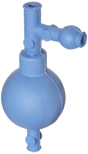 Heathrow Scientific HD20632C - Llenador de pipeta (goma, longitud x anchura x altura: 54 x 54 x 130 mm), color azul