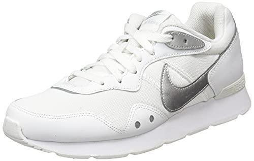 Nike Wmns Venture Runner, Scarpe da Corsa Donna, White/Mtlc Silver, 40 EU