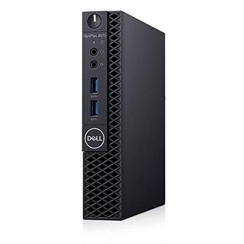 Dell OptiPlex 3070 Micro Form Factor PC, Intel Core i5-9400T, 16GB RAM, 256GB SSD, Dell 3 YR WTY + EuroPC Warranty Assist, (Renewed)
