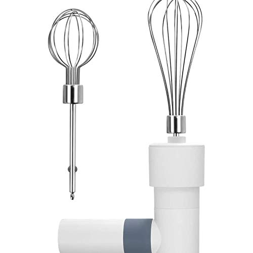 Electric Mixer Handheld Mixer, Lightweight Electric Hand Mixer Stainless Steel Egg Whisk with Egg Sticks Electric Kitchen Hand Blender Mixer,Rechargeable Battery Operated