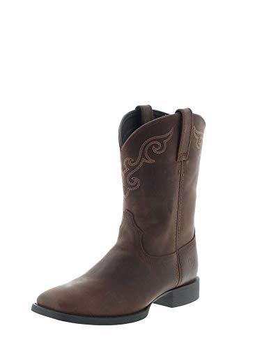 Ariat Damen Cowboy Stiefel 27383 Roper Westernreitstiefel Braun 38.5 EU