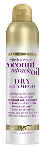 Ogx Shampoo Dry Coconut Miracle Oil 5 Ounce Extra Strength (235ml) (2 Pack)
