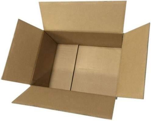 Faltkartons Versandkartons Faltschachtel Pappkarton Kartonage Karton Faltkiste Versandschachtel (10 Stück, braun, 200x150x90mm)